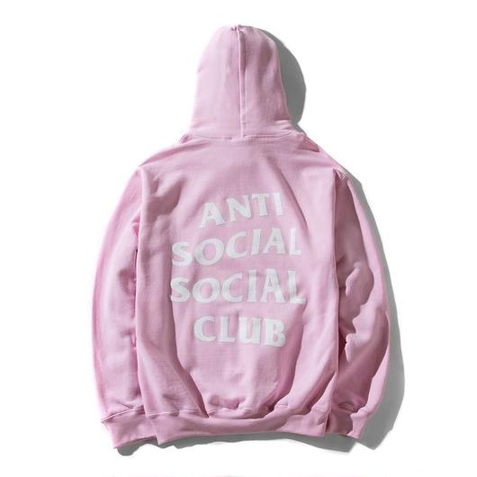 Anti Social Social Club/Logo フーディー Light Pink
