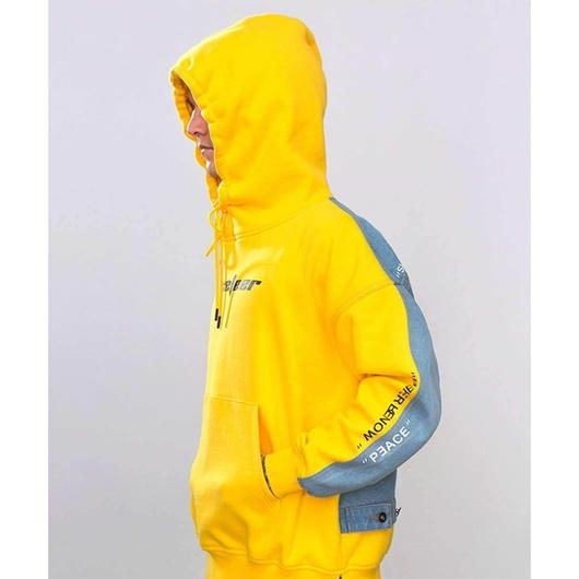 WOSS.official/Denim  Yellow  Hoodie