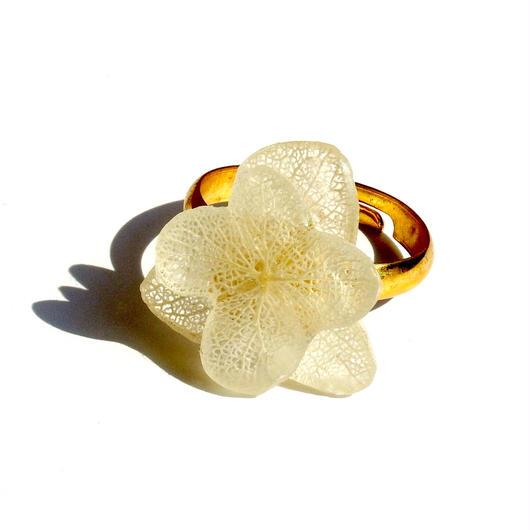 紫陽花の指輪フリーサイズ (10号〜)
