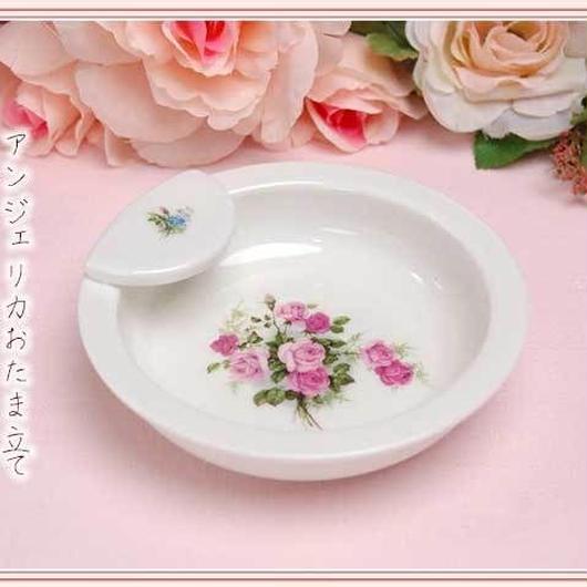 ■プラン・ド・パリ アンジェリカ 陶器 おたま立て【薔薇雑貨 姫系 薔薇柄 おたま お玉スタンド】