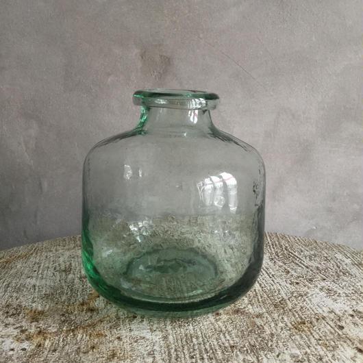 Classical Glass Bottle Flower Vase (クラシカル  ガラスボトル フラワーベース)1.5L