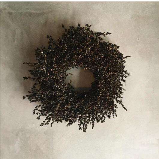 Purple Majesty Wreath (クロキビのリース)