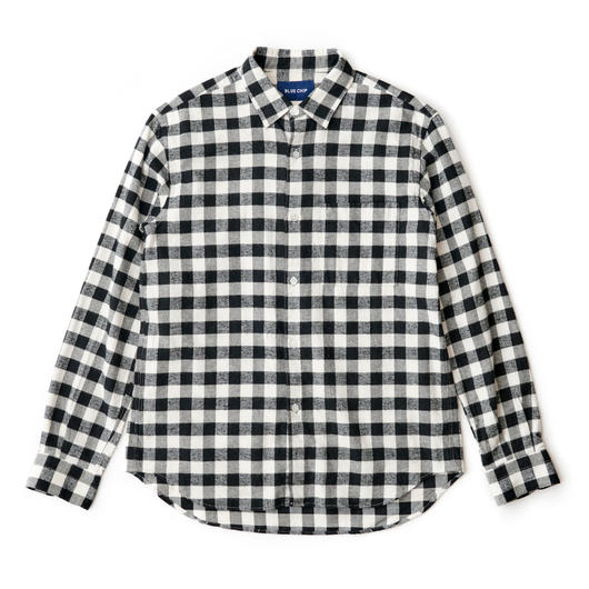 Good neighbors Point Collar Shirts -BLOCK-
