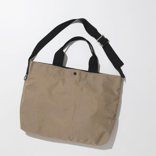 JOHN 2way Shoulder Bag -BEIGE-
