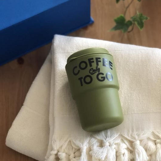 【Special kit】TOWEL & TUMBLER SET(KHAKI/WHITE)