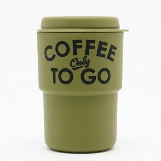【Special kit】COFFEE ONLY TO GO タンブラー(KHAKI) × LOVING EARTH チョコレート(ラズベリー・ミント・ダーク) 3枚セット