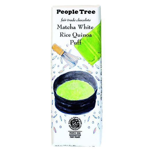 PeopleTree(ピープルツリー)チョコレート 抹茶ホワイト 50g