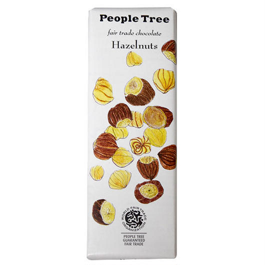 PeopleTree(ピープルツリー)チョコレート ヘーゼルナッツ 50g