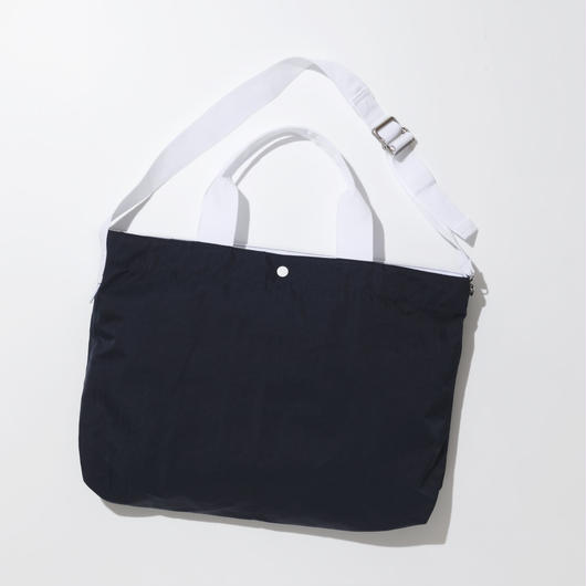 JOHN 2way Shoulder Bag -NAVY-