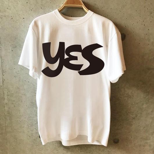 YES Tee -WHITE-