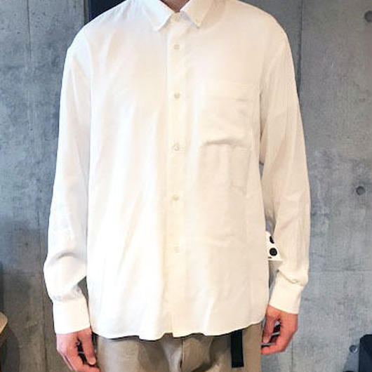 【ELVIS】BD COLLAR SHIRTS -WHITE-