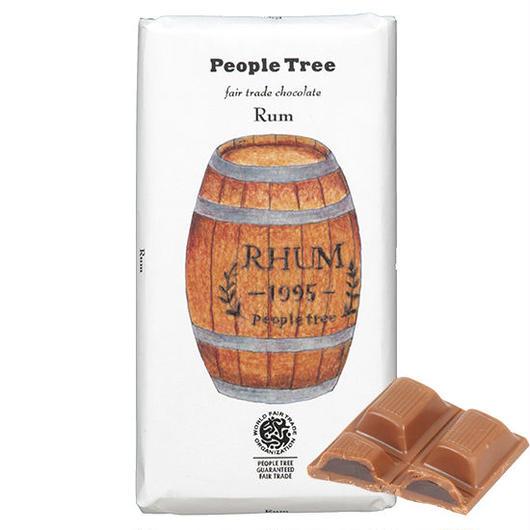 PeopleTree(ピープルツリー)チョコレート ラム 100g