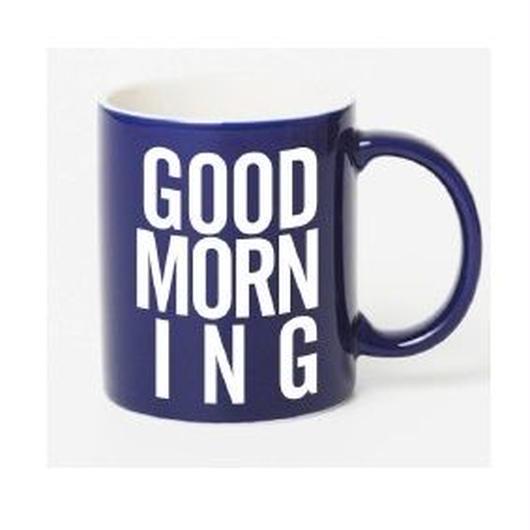 GOOD MORNING MAG -NAVY-