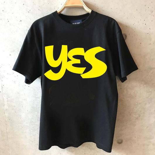 YES Tee -BLACK-
