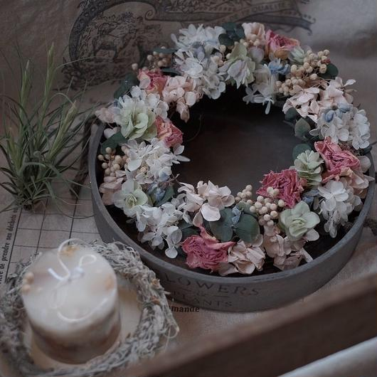 preserved flower リース