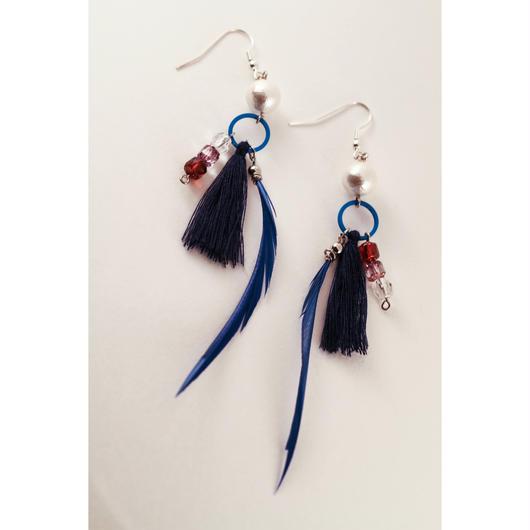 Azul earrings/碧ピアス