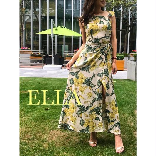 Botanical summer dress