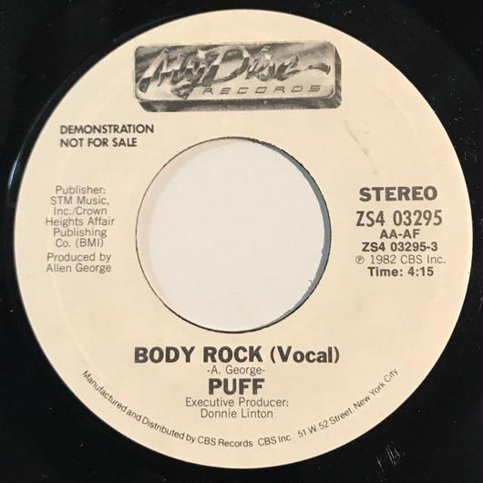 PUFF:BODY ROCK