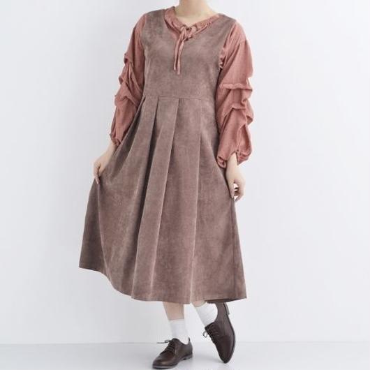 [1412op]コーデュロイジャンパースカート