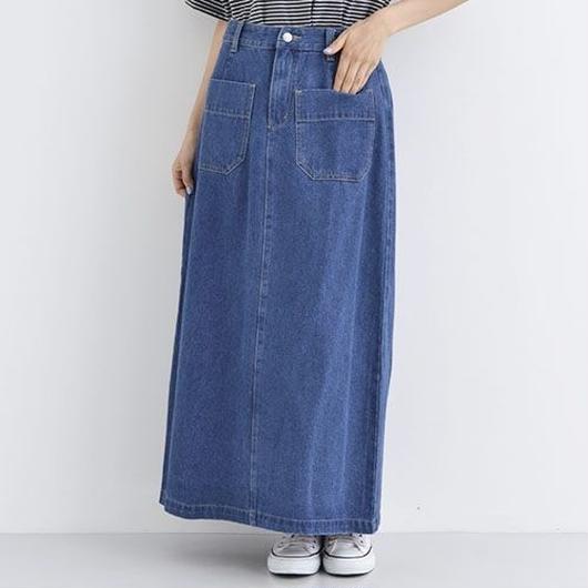 [1387tp]10ozナローデニムスカート