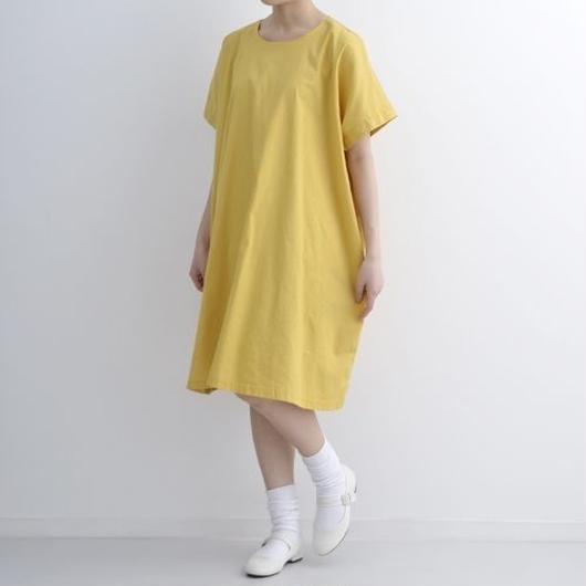 [1320op]ビッグシルエット綿麻ワンピース