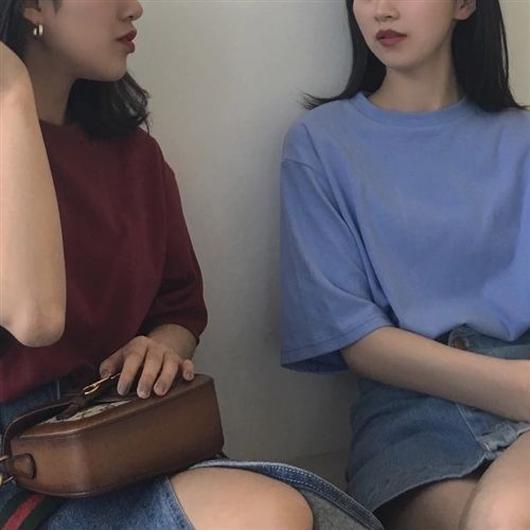 [1313tp]無地半袖Tシャツ