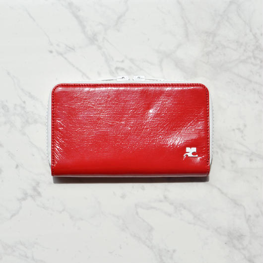 Courrèges / VINYLE LOGO WALLET / LONG
