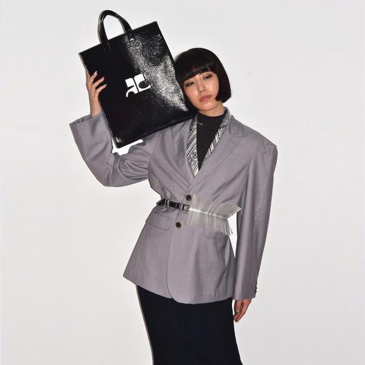 courrèges / VINYL TOTE BAG
