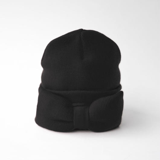 BERN STOCK SPEIRS / JUMBO BOW BEANIE /BLACK