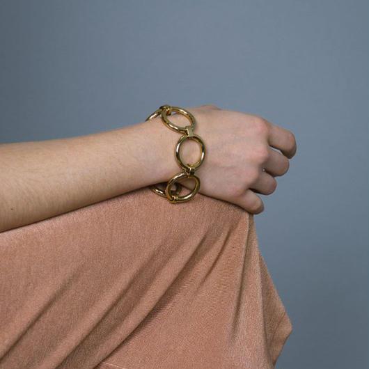 Saskia Diez / BOLD BRACELET / GOLD