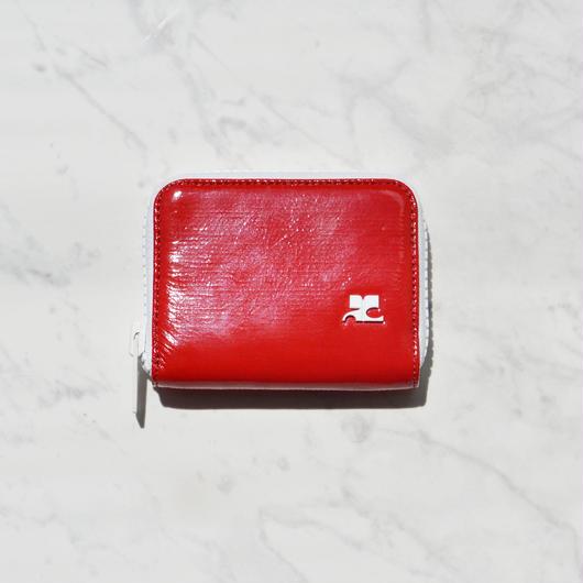 Courrèges / VINYLE LOGO WALLET / SMALL