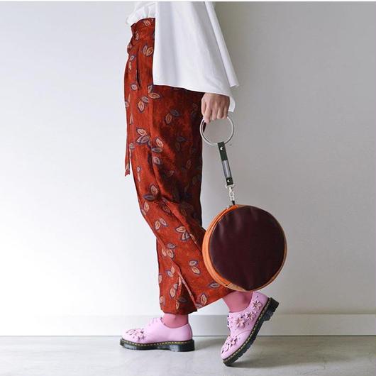 PONTI / LEAF JACQUARD PANTS