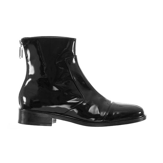 courreges / zip boots / Black