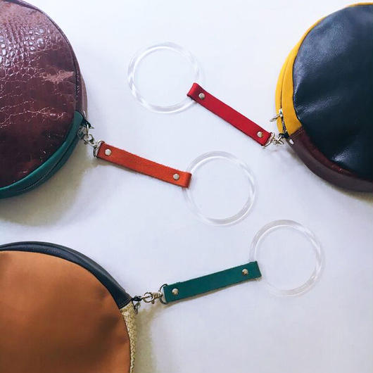 KISHIDAMIKI / CIRCLE BAG