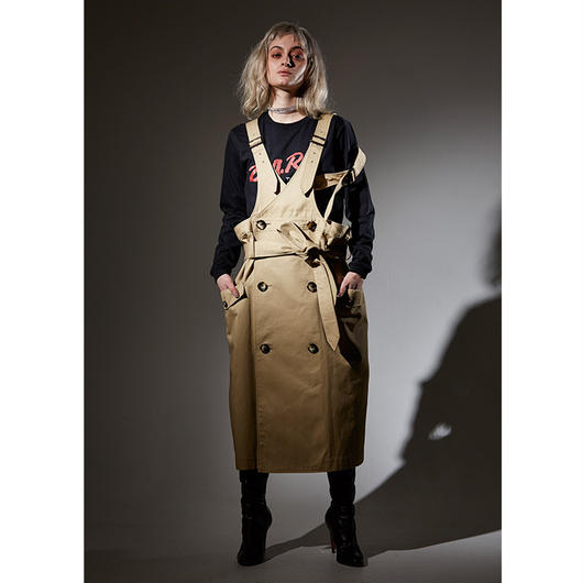 【予約受付中】Metaphor… / TRENCH DRESS / BEIGE