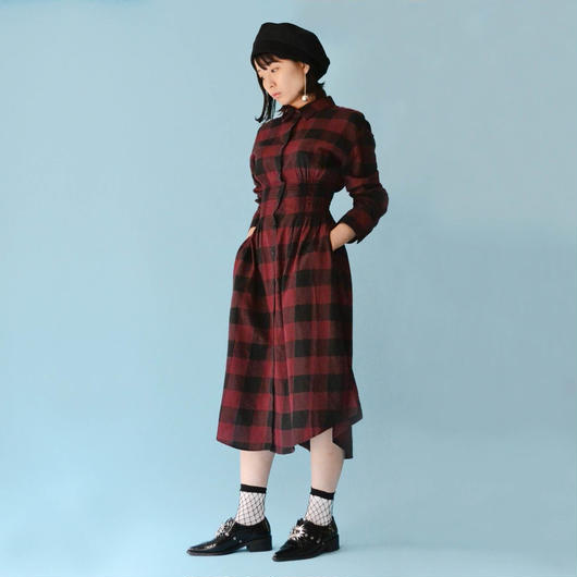 CHEAP MONDAY / CRIME FLANNEL DRESS