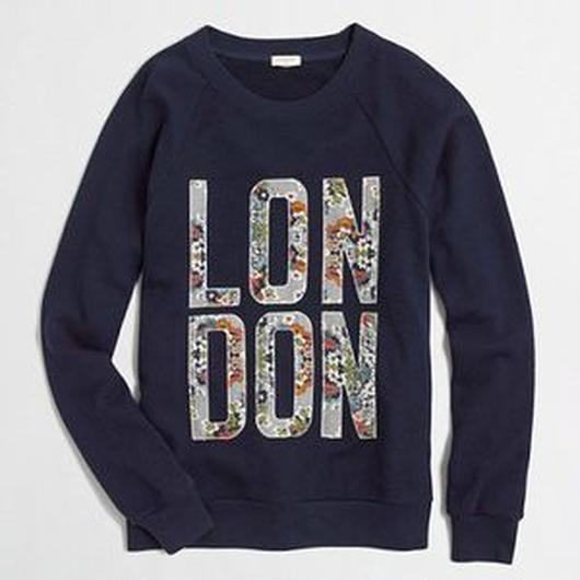 J.CREW London sweatshirt