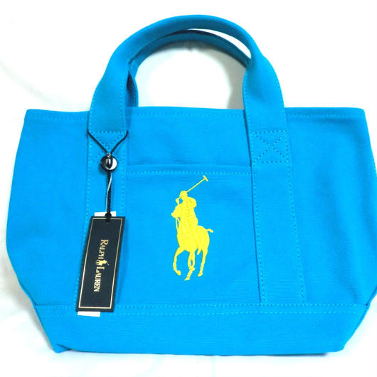 POLO RALPH LAUREN BIG PONY ミニトート