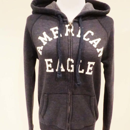 American Eagle ジップアップパーカー
