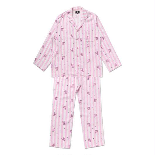 COOKYストライプパジャマ上下