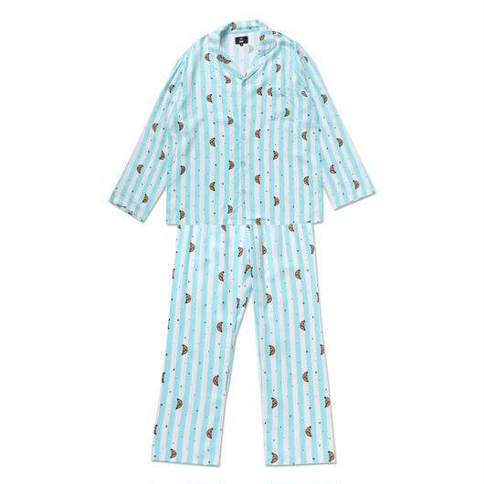 SHOOKYストライプパジャマ上下