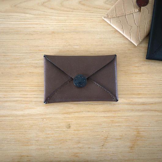 Card case envelop / Brown