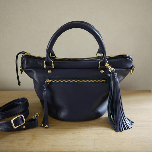 Mini tote bag / Navy