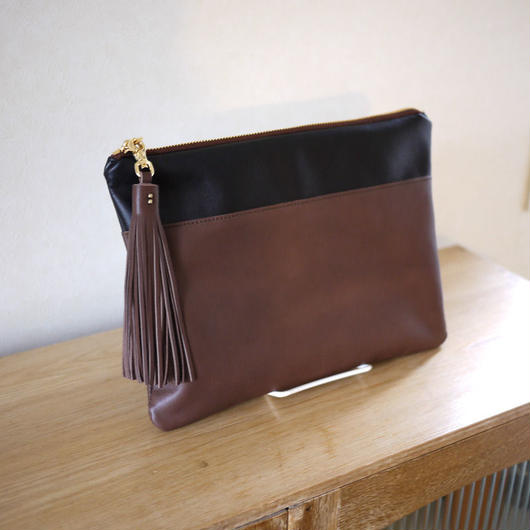 new Clutch bag / BR×BK