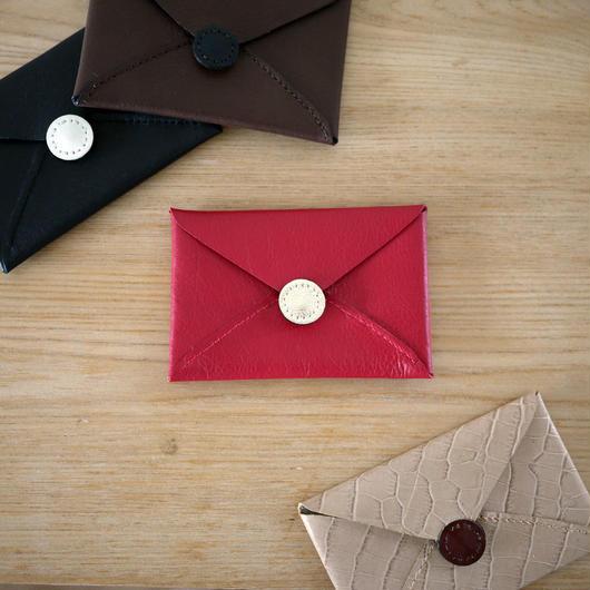Card case envelop / Red