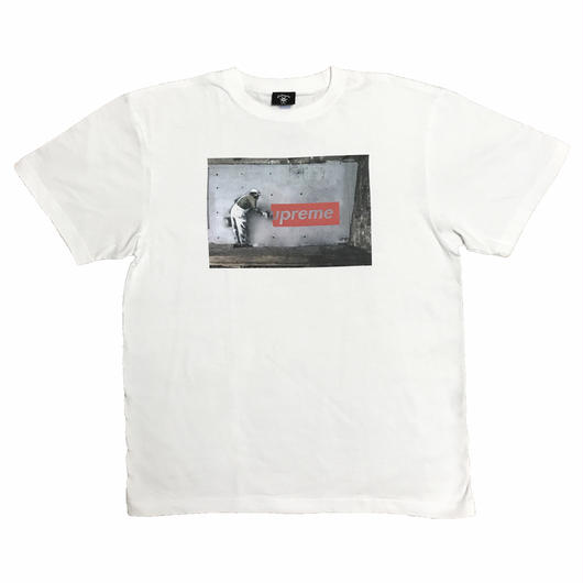 """The Wallart"" tee (WHT)"