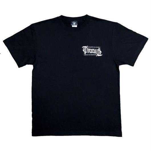 "Original ambigram ""THUG LIFE"" tee (BLK)"