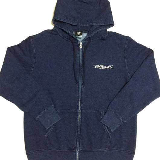 "Zip Hoody ""Bud Princess"" (DENIM)"