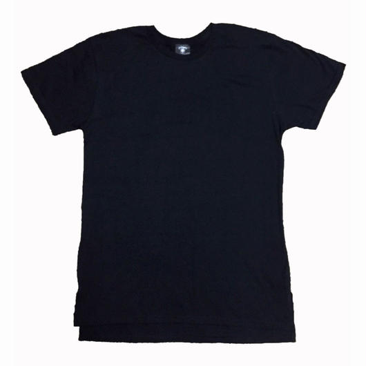 BudHuman&Co. long length tee (BLK)