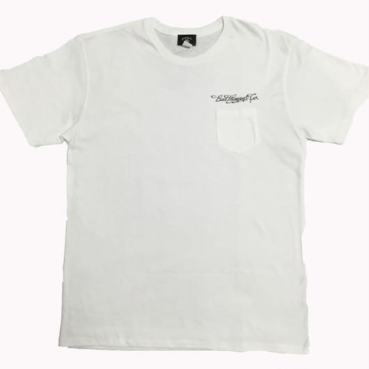 BudHuman&Co. Pocket tee (WHT)